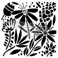 "Šablona 12""x12"" (30,5 x 30,5 cm), Summer burst"