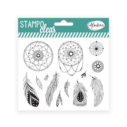 Gelová razítka Stampo CLEAR - Lapač snů 1