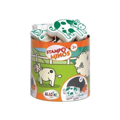Razítka s příběhem Stampo MINOS - Domácí zvířátka 1