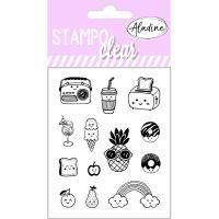 Gelová razítka StampoClear, kawaii - roztomilosti