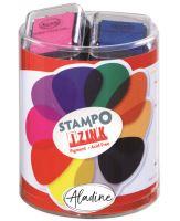 Raítkovací polštářky StampoColors, základní barvy
