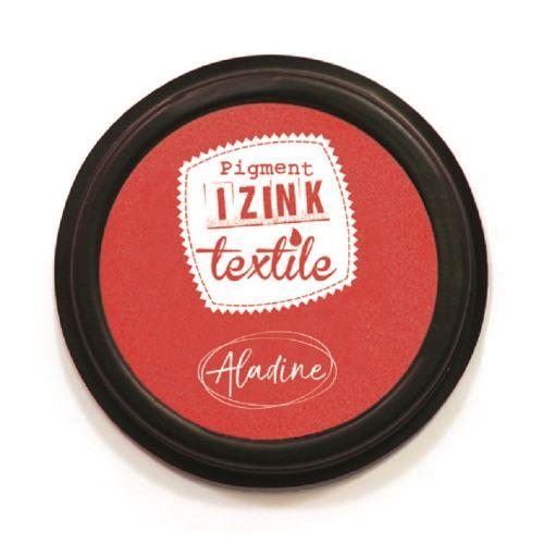 Razítkovací polštářek na textil Izink - červený