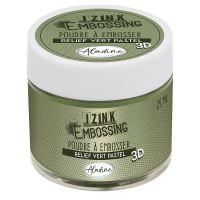 Embosovací prášek Aladine, 25 ml - pastelová zelená