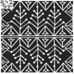"""Šablona 12""""x12"""" (30,5 x 30,5 cm), Snow Branch"""