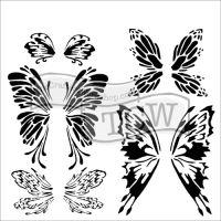 """Šablona 12""""x12"""" (30,5 x 30,5 cm), Fairywings"""
