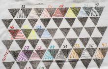 Textilní kontura glitter, 20ml - třpytivá