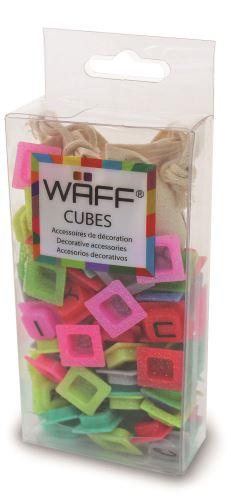 Kreativní deník WAFF - třpytivá písmena, 100ks