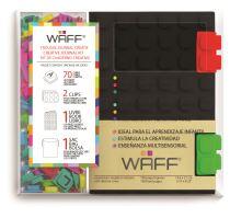 Kreativní deník WAFF, velikost A6, black