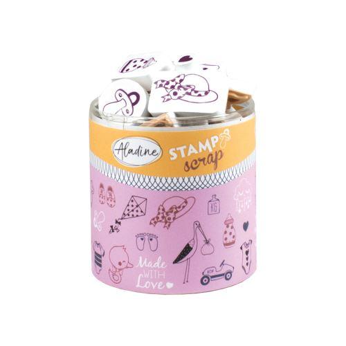 Razítka Stampo Scrap - Narození miminka 1