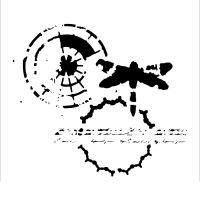 "Šablona 12""x12"" (30,5 x 30,5 cm), Delicate Impression"