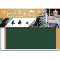 Origami, vánoční origami sada, vánoční stůl