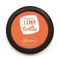 Razítkovací polštářek na textil Izink - oranžový