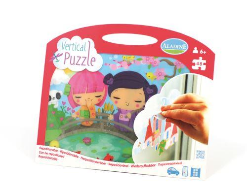 Vertikální okenní puzzle, Japonečky, 48 dílků