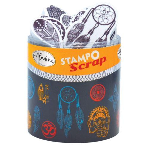 Aladine razítka StampoScrap, etno