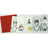 Aladine razítka StampoScrap, ulítlé Vánoce