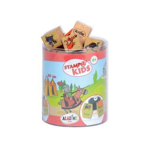 Dětská dřevěná razítka Stampo KIDS - Rytíři 1