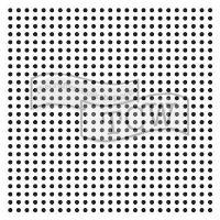 """Šablona 6""""x6"""" , Micro Dots, mini"""
