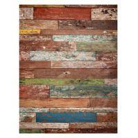 Rýžový papír - barevná podlaha