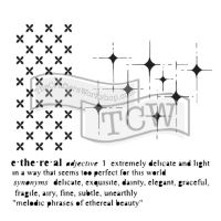 "Šablona 6""x6"" (15,2 x 15,2 cm), Ethereal"