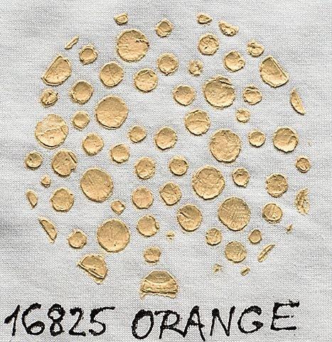 3D pasta Cadence Fabric, měnící barvu, oranžová