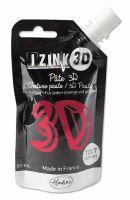 Reliéfní pasta, 3D IZINK, 80 ml - geranium, růžová