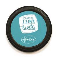 Razítkovací polštářek na textil Izink - tyrkysový