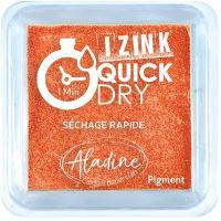 Razítkovací polštářek Izink Quick Dry, rychle schnoucí - oranžová