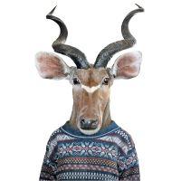 Nažehlovací nálepka, antilopa - 21 x 30 cm