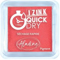 Razítkovací polštářek Izink Quick Dry, rychle schnoucí - červená