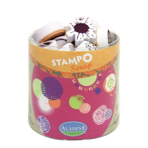 Aladine razítka StampoScrap, kruhy a kružnice